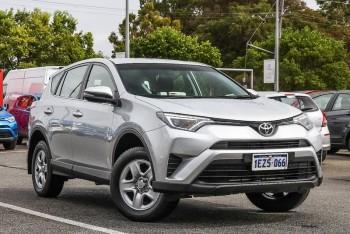 2016 Toyota Rav4 Gx Wagon (Silver)