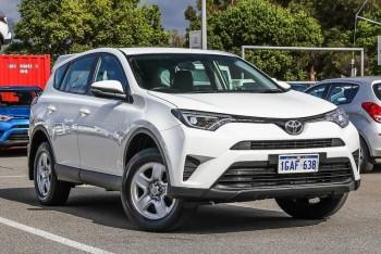 2016 Toyota Rav4 Gx Wagon (White)