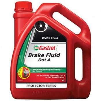 Castrol Brake Fluid Dot 4 4L