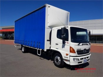 2014 Hino 500 Series 1426 FE Tautliner /