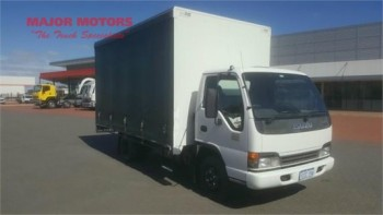 2005 Isuzu NPR 300 Tautliner / Curtainsi