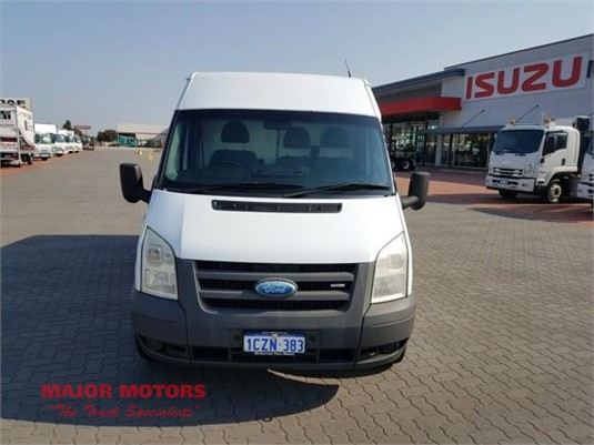 2008 Ford Transit LWB Fridge Van Van
