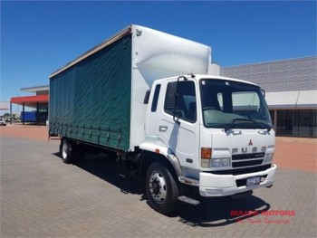 2007 Fuso Fighter 10 FM Tautliner / Curt