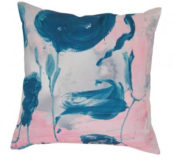 Blue Rose Cushion