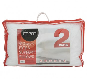 Trend Extra Support Pillow 2 Pack