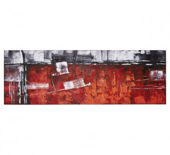 Red Abstract Wall Art