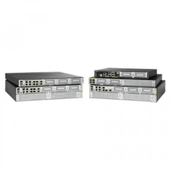 The Cisco 4000 Family Integrated Service