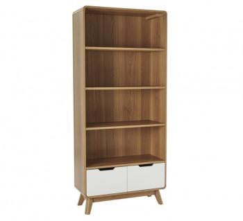 Retro 2 Drawer Bookcase