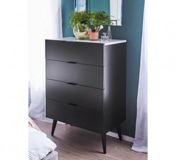 Monaco 4 Drawer Tallboy