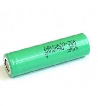 Samsung 25R 2500mah Battery