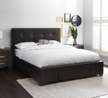 Modena Queen Bed with Storage