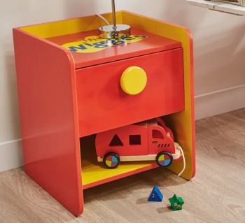 Wiggles Bedside Table