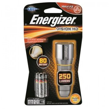 Energizer Vision HD Metal Torch (3AAA)