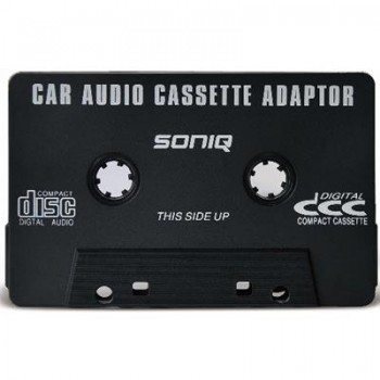 Soniq Car Audio Cassette Adaptor