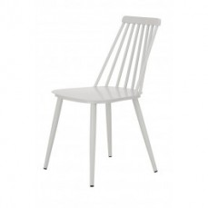 White Windsor Outdoor Dining Chair