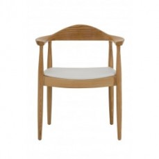 Hans Wegner Round Chair Replica - Timber