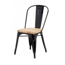 Replica Xavier Pauchard Chair with Wood