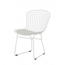 Replica White Bertoia Dining Chair