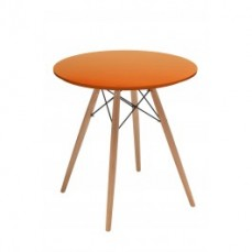 Replica Eames Table 70cm - Orange