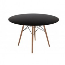 Replica Charles Eames Dining Table Black