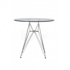 Replica Charles Eames Glass Dining Table