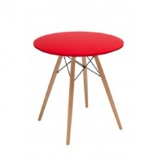 Replica Eames Table 70cm - Red