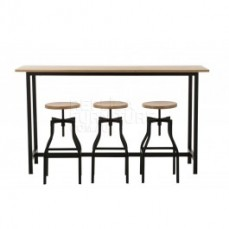 Replica Xavier Pauchard Bar Table - Wood