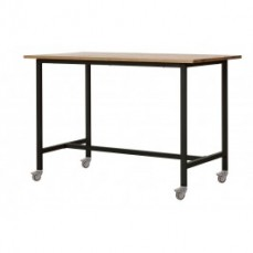 Xavier Pauchard Bar Table with Castor Wh