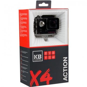 Kaiser Baas X4 Waterproof 4K Video Actio