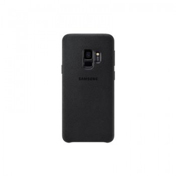 Samsung Galaxy S9 Alcantara Cover (Black