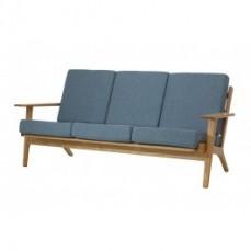 Replica Hans Wegner Plank Sofa 3 Seater