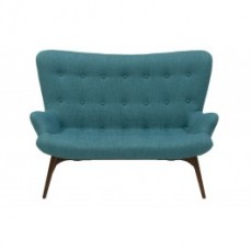 Replica Featherston Sofa 2 Seater Teal a