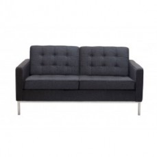 Replica Florence Knoll Wool 2 Seater Sof