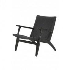 Replica Black CH25 Easy Chair