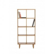 Solid Timber Bookcase by Alteri Designs