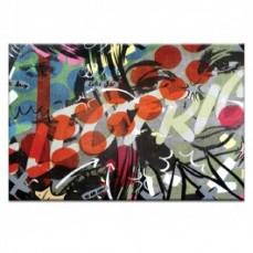 Electric by Dan Monteavaro Canvas Art Pr