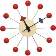 Replica George Nelson Ball Clock - Red