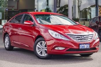 2012 Hyundai I45 Active Sedan (Red)