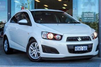 2013 Holden Barina Cd Sedan (White)