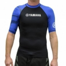 Blue Short Sleeve Rashie - Adult