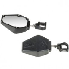 Bomber Side Mirror Set - Black