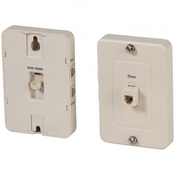 ADSL2+ Filter Wall Plate