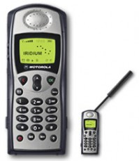 IRIDIUM SATELLITE PHONE