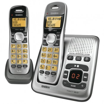 Uniden 2 Handset Cordless Telephone with