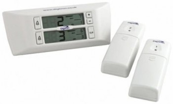 Digitron FM25 Digital Thermometer, 2 Inp