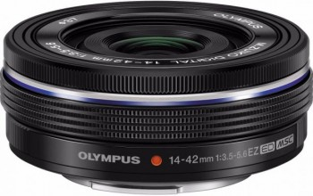 Olympus 14-42mm f/3.5-5.6 EZ Black Lens