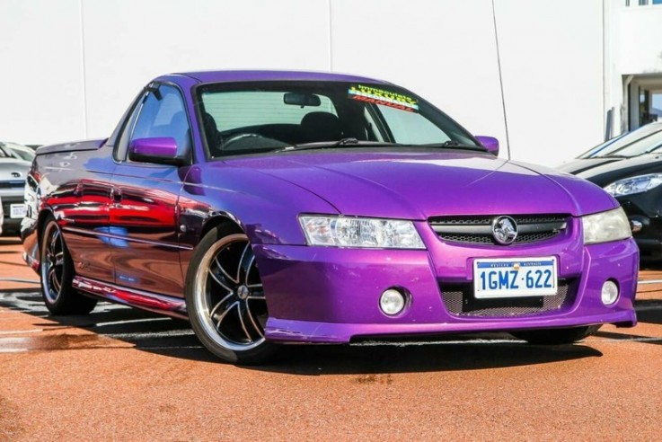 2007 Holden Ute Svz Utility (Purple)