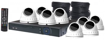 S9905C • 4MP AHD Real Time CCTV Hybrid D