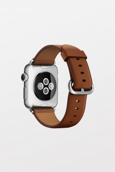 Apple Watch Band 42mm - Brown Classic Bu