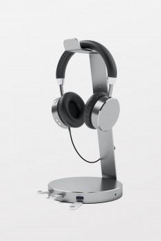 SATECHI Aluminium USB 3/0 Headphone Stan